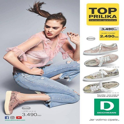 Deichmann katalog do 15.04.2018.