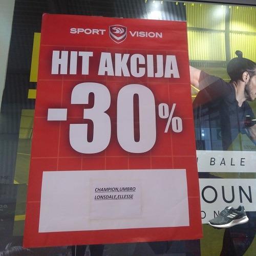 Hit akcija u Sport Vision-u