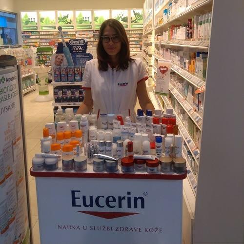 Promocija Eucerina u BENU apoteci u TCM