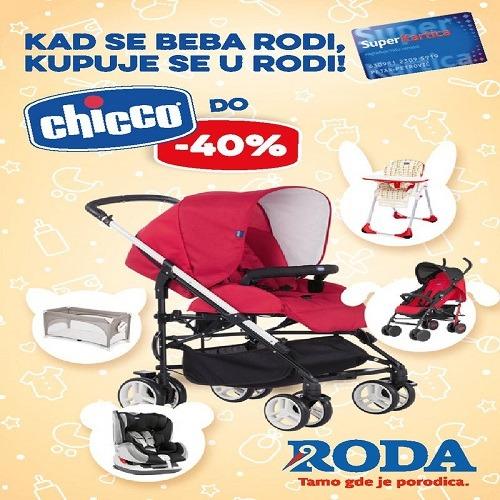 Roda katalog – Kad se beba rodi kupuje se u Rodi, Chicco akcija