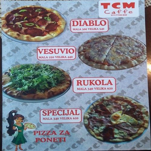 TCM Caffe- Najbolja pica u gradu!