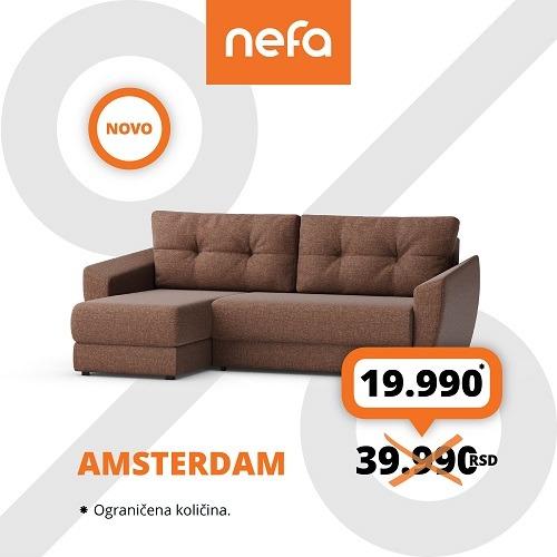Redizajnirani Amsterdam je stigao u Nefu
