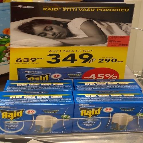 Akcijska cena Raida dm -u