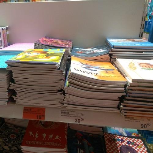 U Staroj knjižari u TCM-u sveske po super ceni od 19 dinara