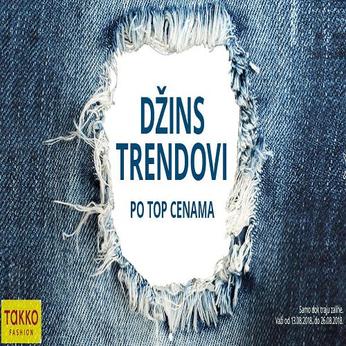 Džins trendovi u Takko fashion-u