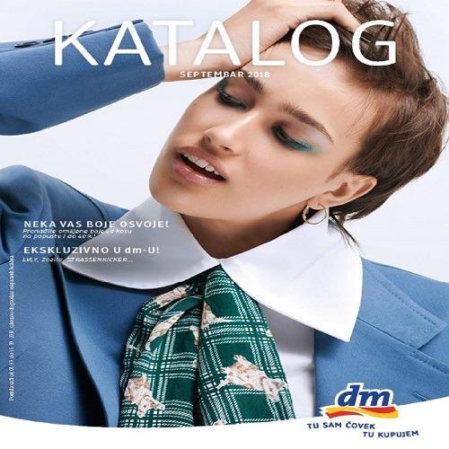 dm katalog – Septembar 2018.