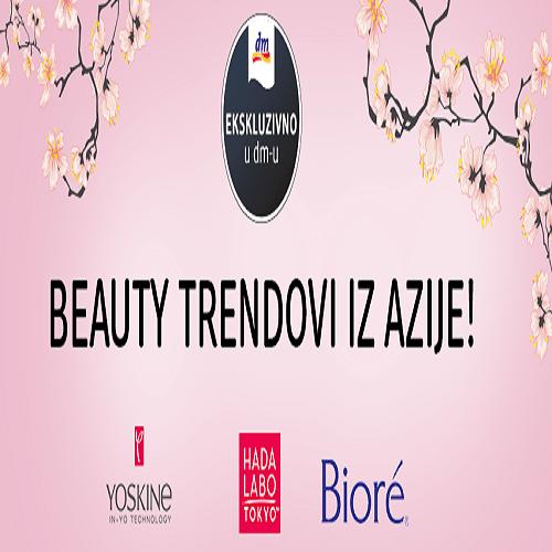 Beauty trendovi iz Azije ekskluzivno u dm-u