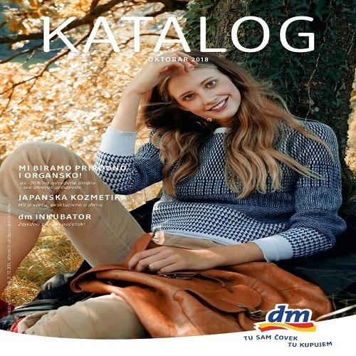 dm katalog – Oktobar 2018.