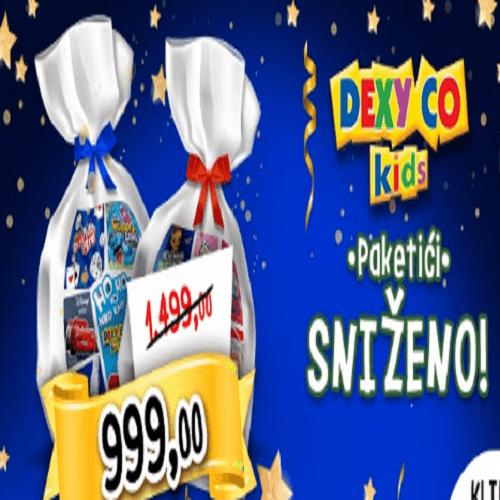 Dexy novogodišnji paketići na sniženju