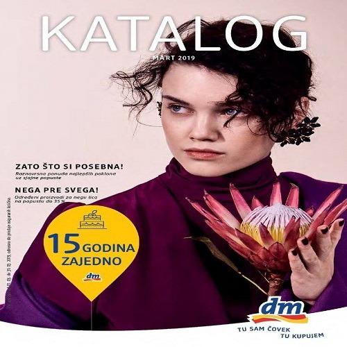 dm katalog mart 2019