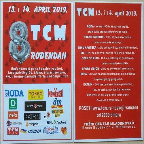 TCM sniženja za 8. rođendan!!!