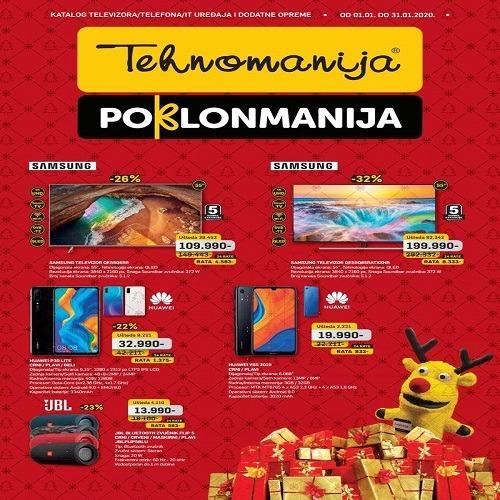 Tehnomanija katalog televizora/ IT uređaja i dodatne opreme