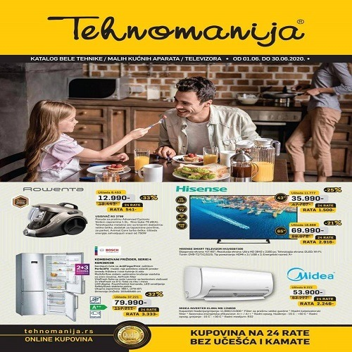 Tehnomanija katalog 01.06-30.06.2020.